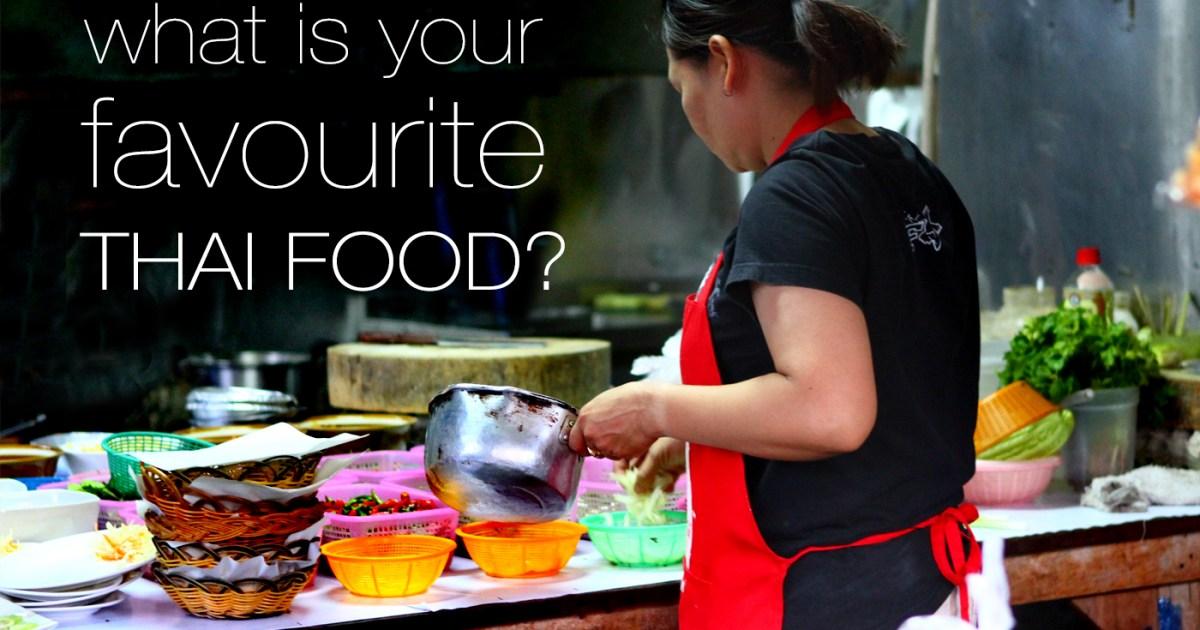 Most Popular Thai Food