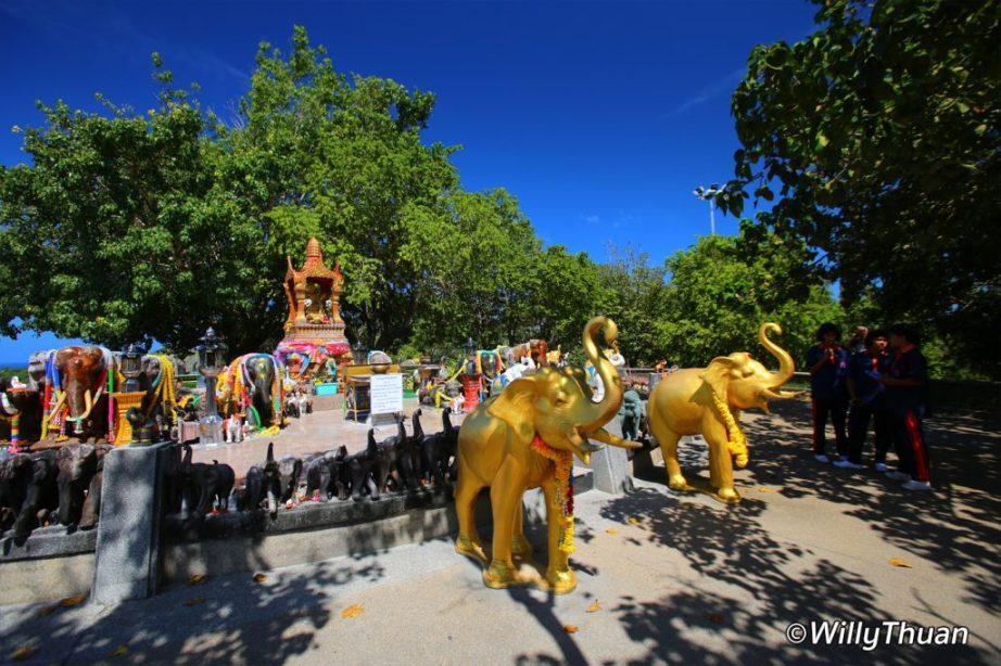 Elephant Shrine at Promthep Cape