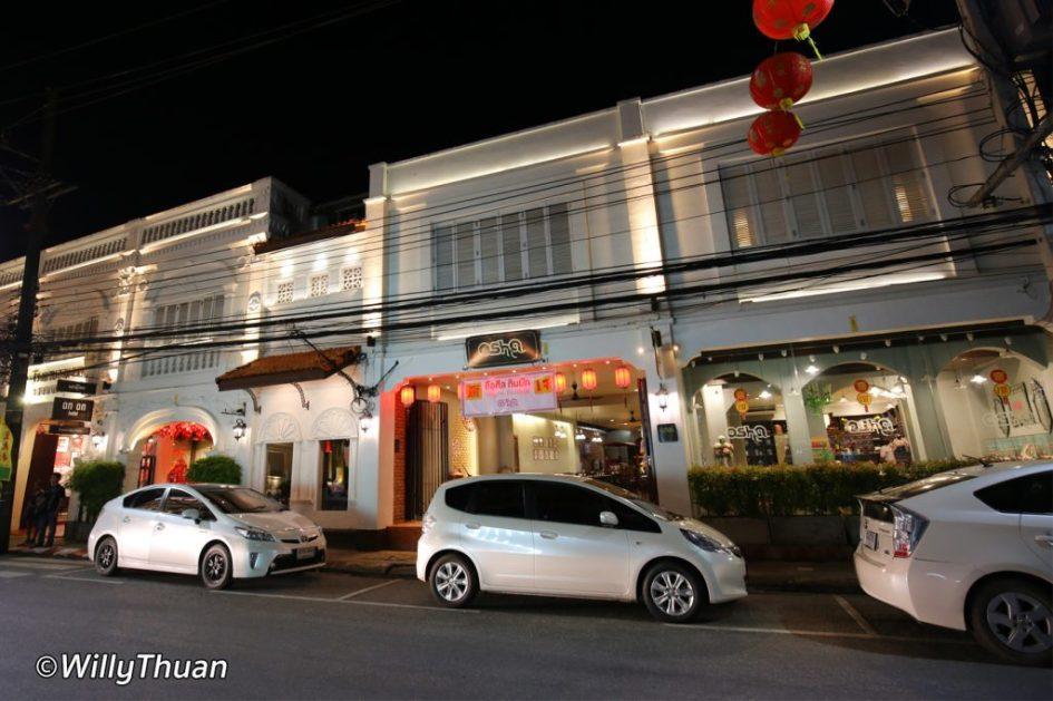 Osha Phuket is part of 'The Memory at On On Hotel'
