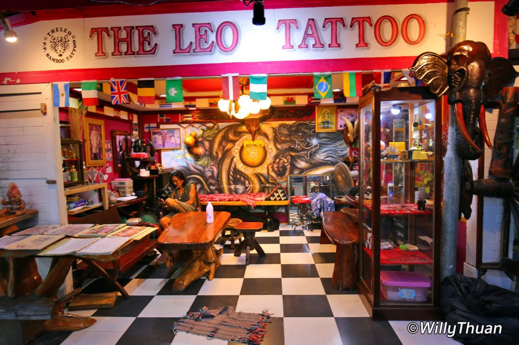 Phi phi islands what to do in phi phi island phuket 101 for Tattoo shop phuket