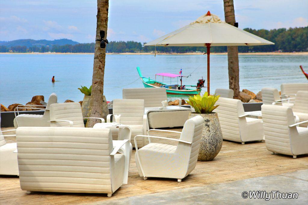 Palm Seaside Restaurant on Bangtao beachfront