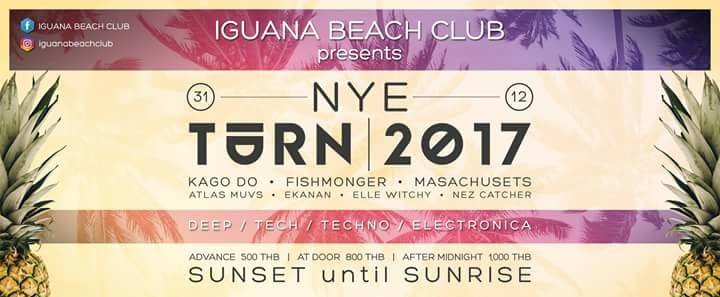 Special New Year's Party at Iguana Beach Bar