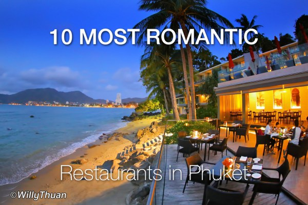 12 Great Romantic Restaurants in Phuket