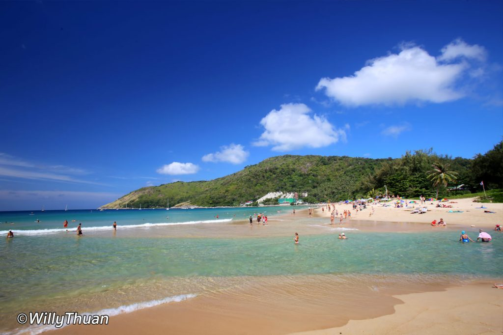 Nai Harn beahc in South Phuket