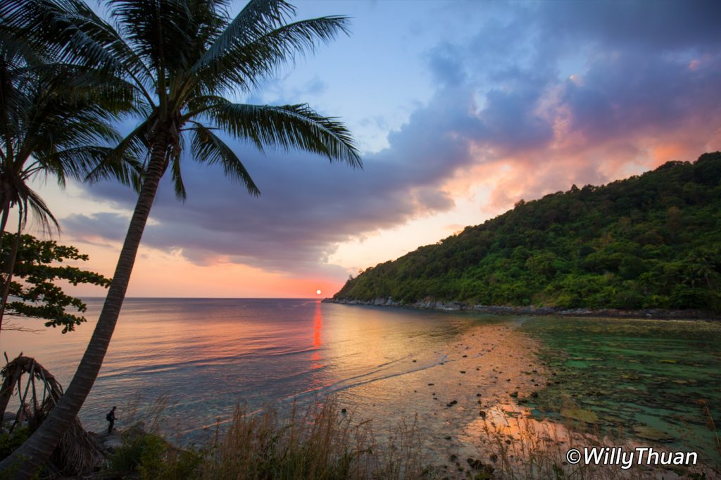 Sunset on Merlin Beach