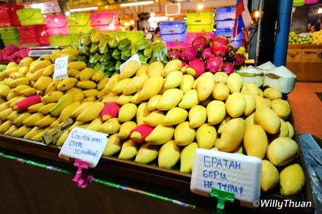 Fruits at Malin Plaza Night Market in Patong
