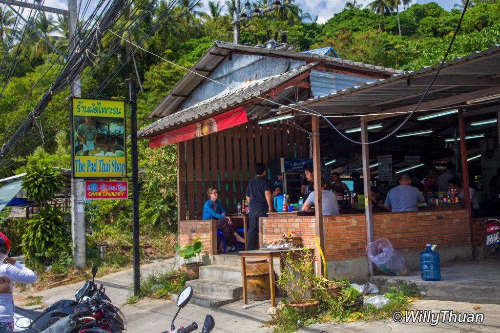 The Pad Thai Shop in Karon Beach