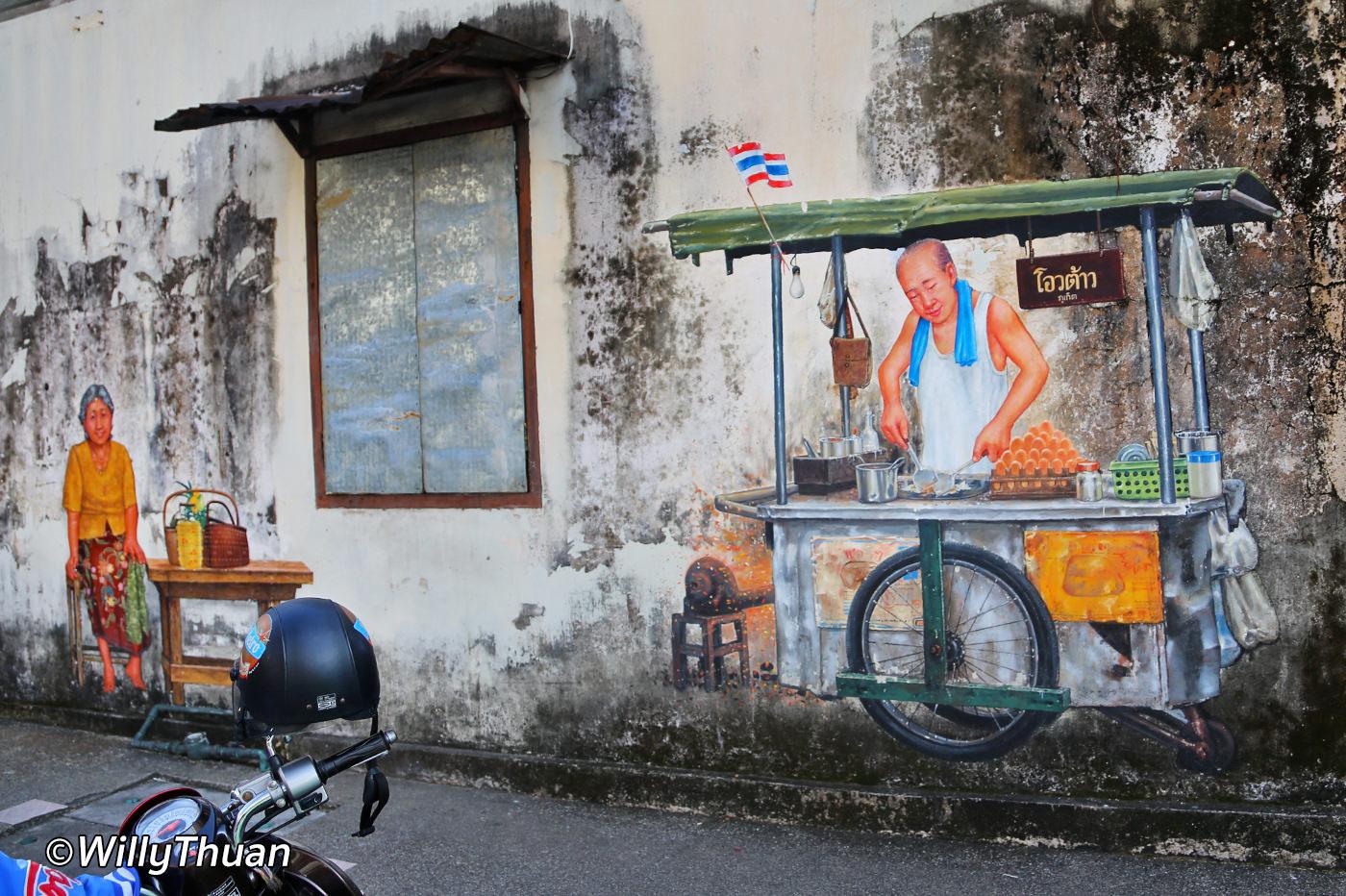 Street art phuket town 90