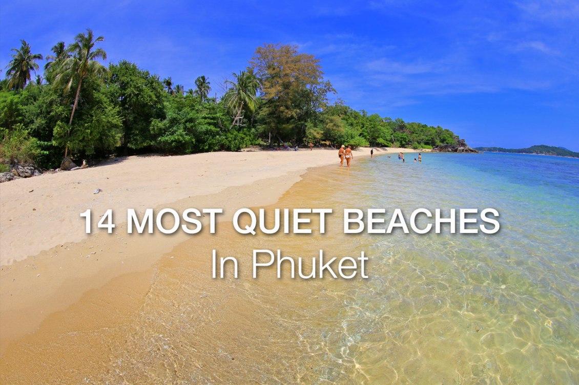 Quiet Beaches of Phuket