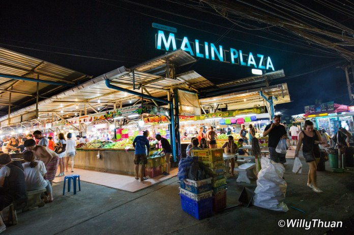 Malin Plaza Night Market Patong