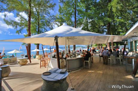 Catch Beach Club on Bangtao Beach