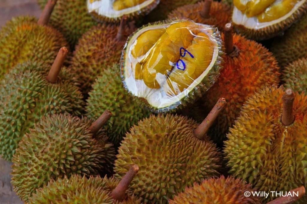 Durians in Phuket