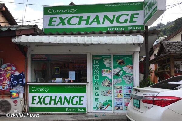 Changing Money in Phuket