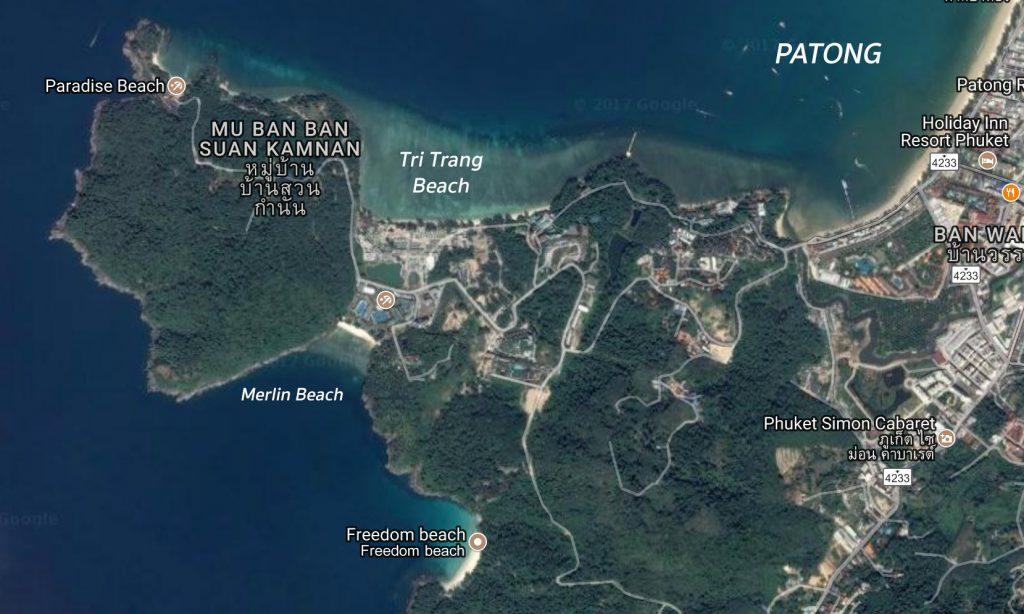 Merlin Beach Map
