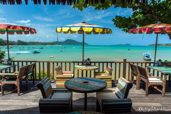 Rawai View Cafe in South Phuket