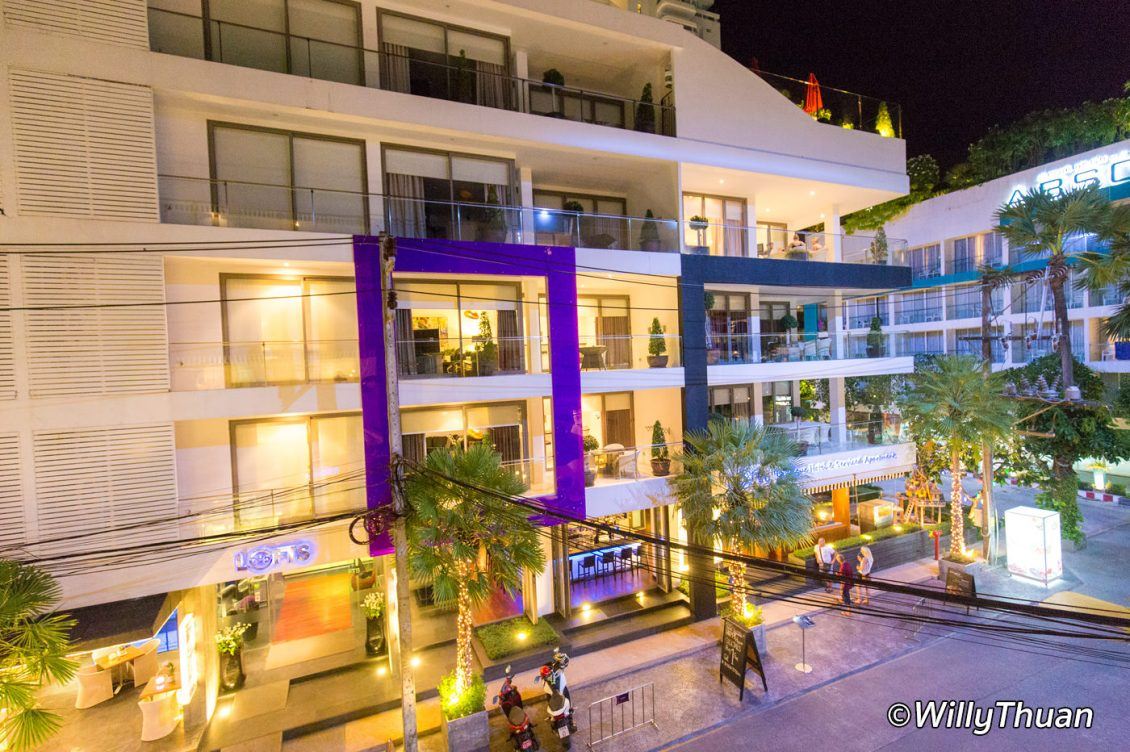 Byd lofts boutique hotel serviced apartments phuket for What is a boutique hotel
