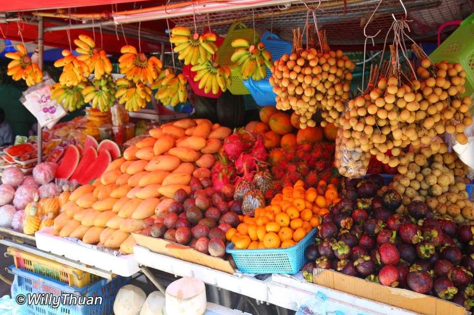 Fruit Market in Nai Harn