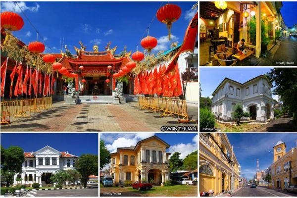 Photos of Phuket Old Town and Around