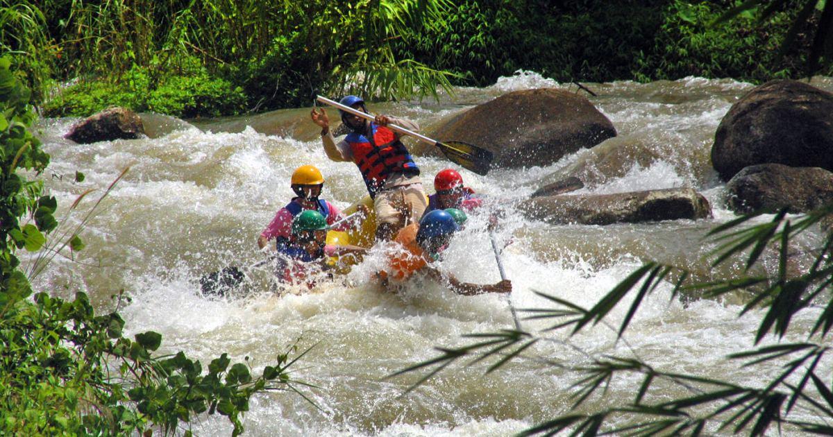 White Water Rafting Phuket