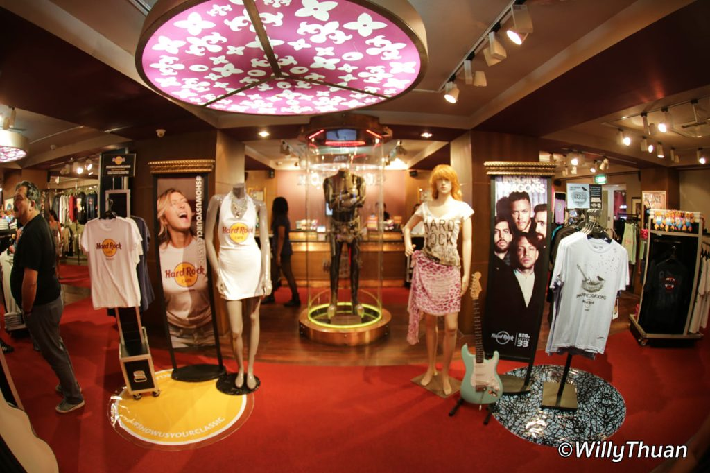 Rock Shop at Hard Rock Cafe