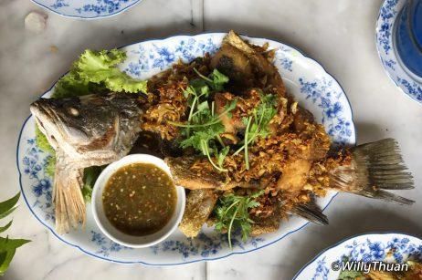Pla Tod Kamin (turmeric) 450 baht