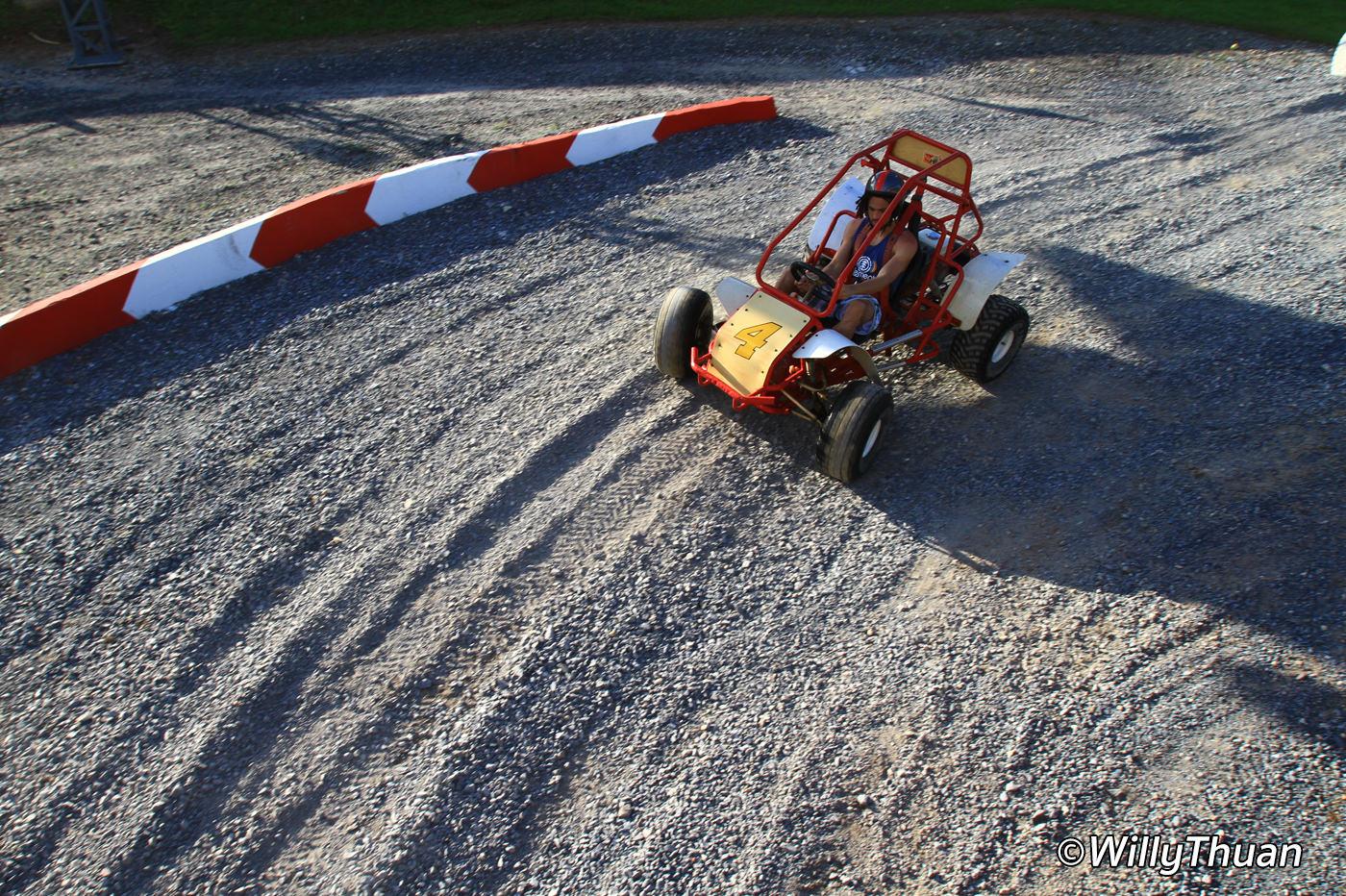 how to build a dirt go kart track