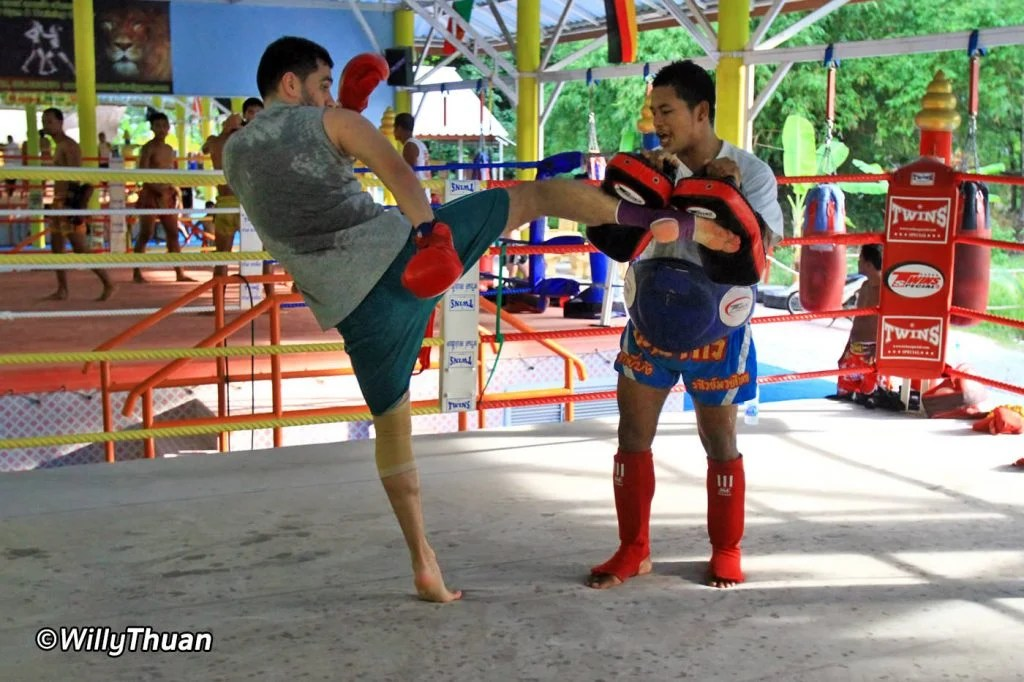 Muay Thai Training Camp in Phuket