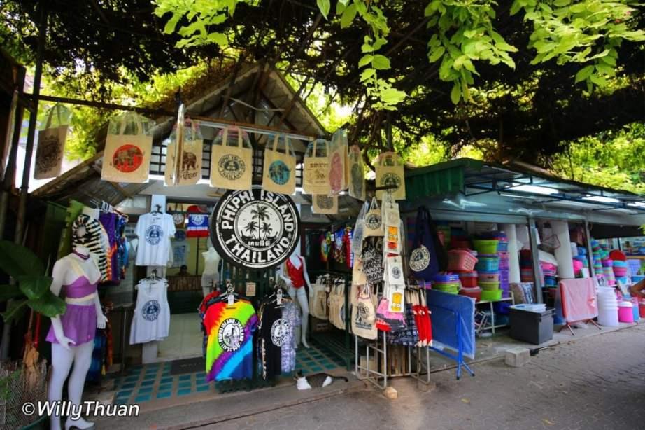 Shopping in Phi Phi Island
