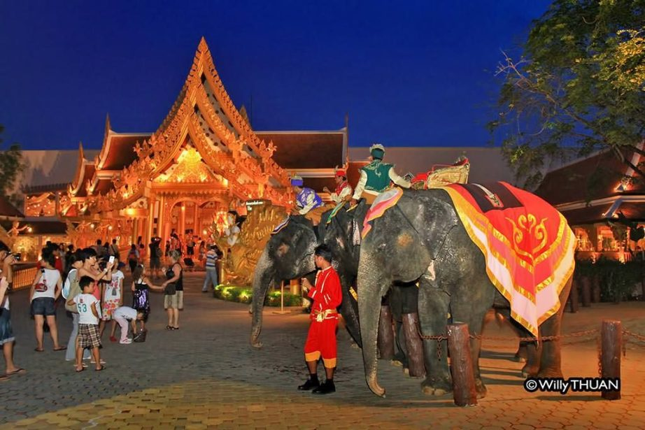 Real Elephants are part of the Phuket Fantasea Show