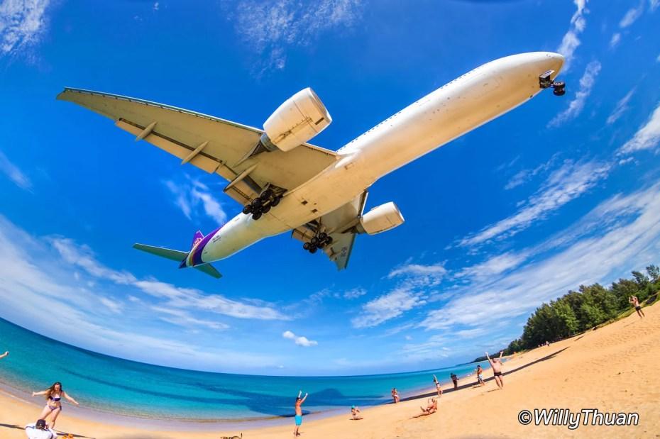 Plane Spotting in Phuket