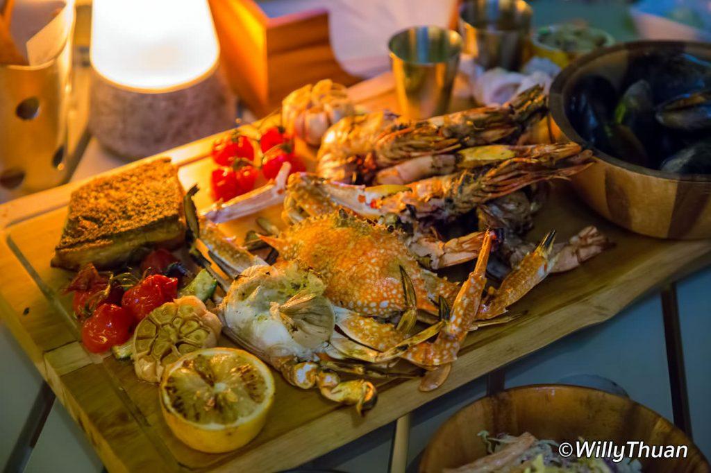 Seafood Platter at Seasalt Restaurant