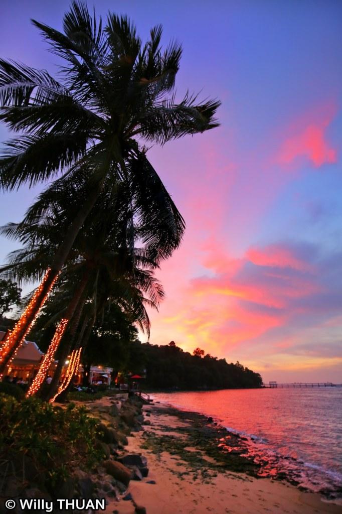 Sunset at La Gritta Phuket