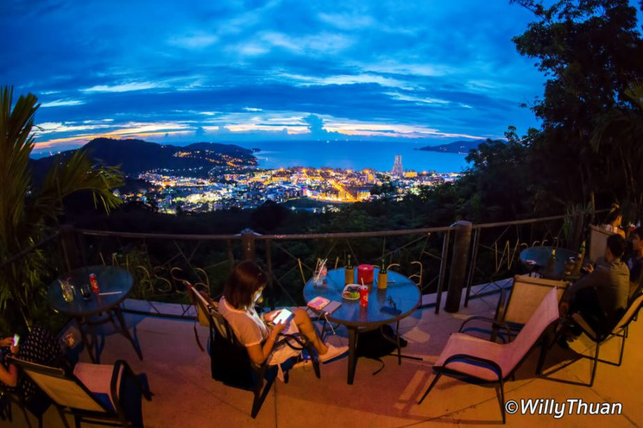 A Bar with views of Patong Beach