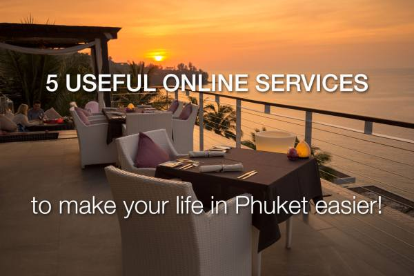 5 Services to Make Your Life in Phuket Easier!