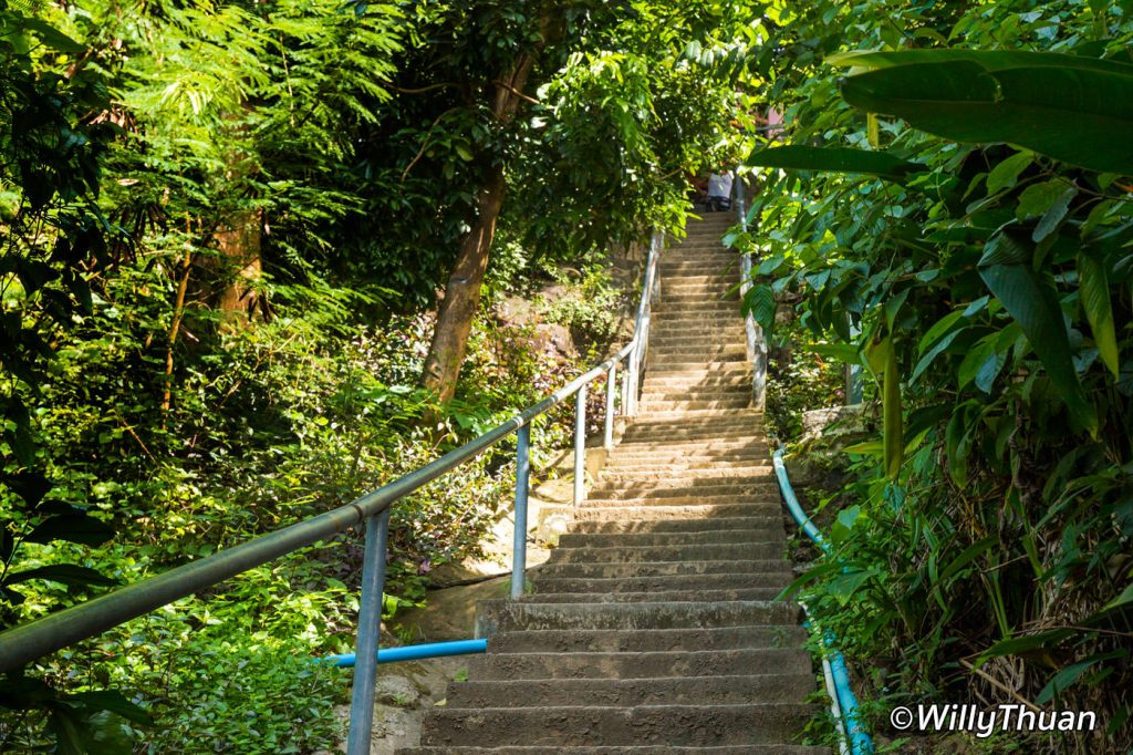 The stairs up to Phi Phi Viewpoint