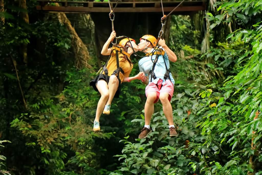 Honeymoon at Flying Hanuman Phuket