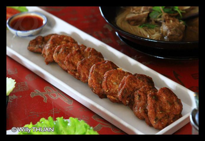 Kopi de Phuket fish cake