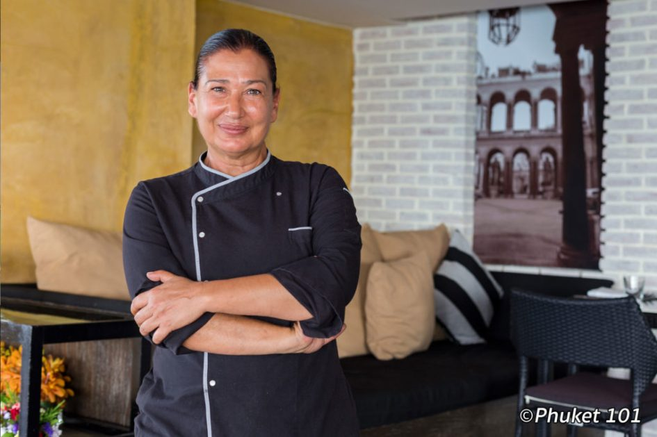 Chef Patrizia Battolu at Amari Phuket