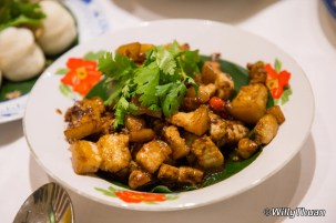 Moo Tao-ew (Pork Belly with soya sauce)