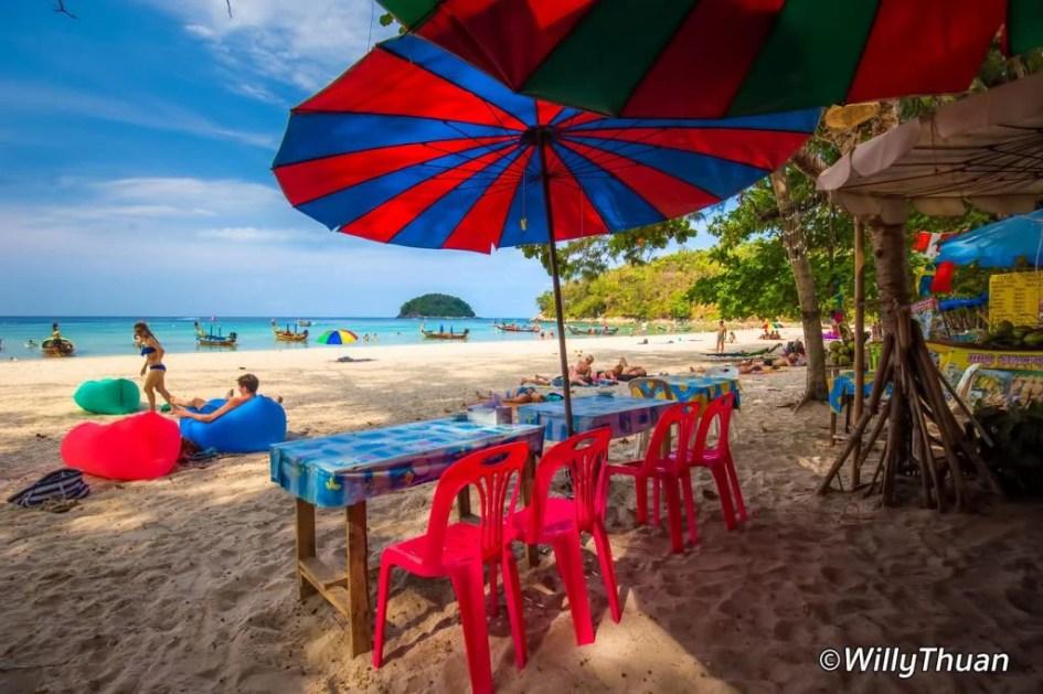 A beach restaurant in north Kata Beach