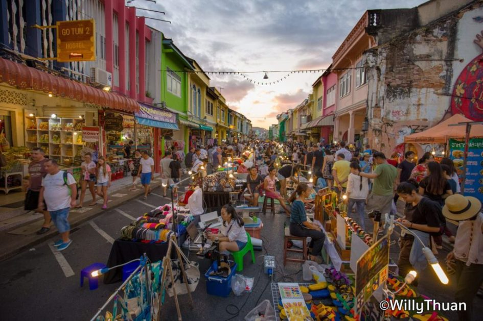 Phuket Walking Street Sunday Market