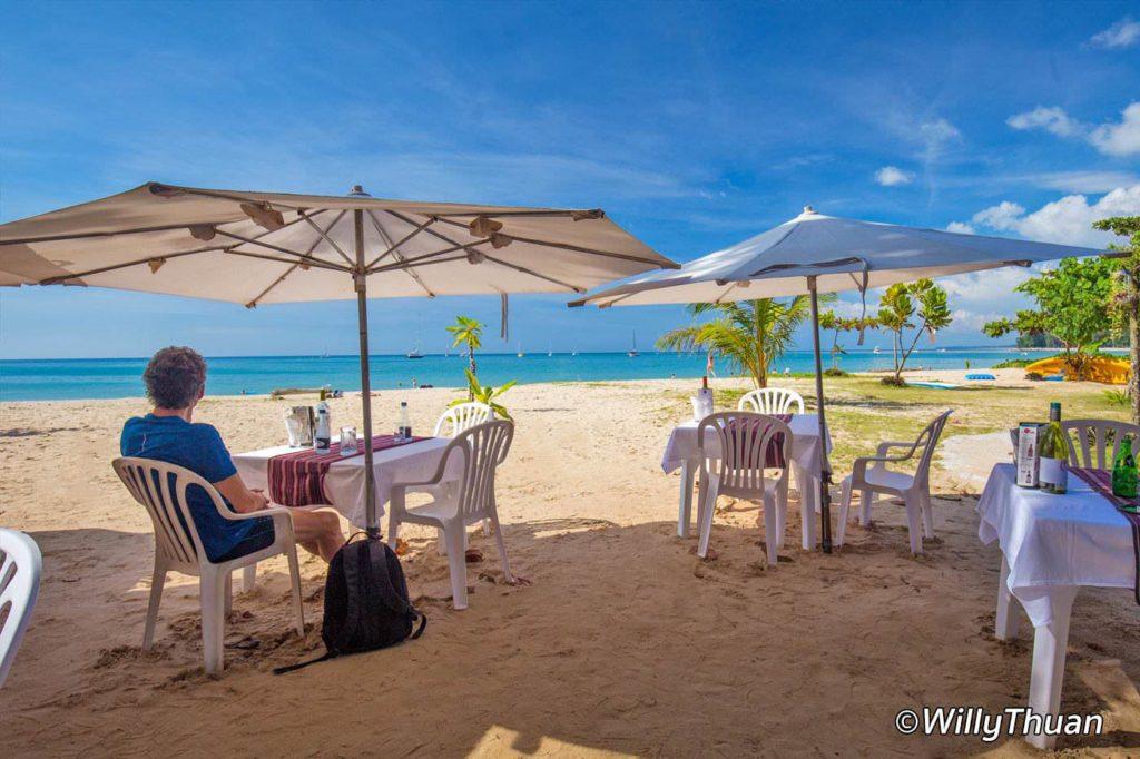 Sea Almond on Nai Yang Beach