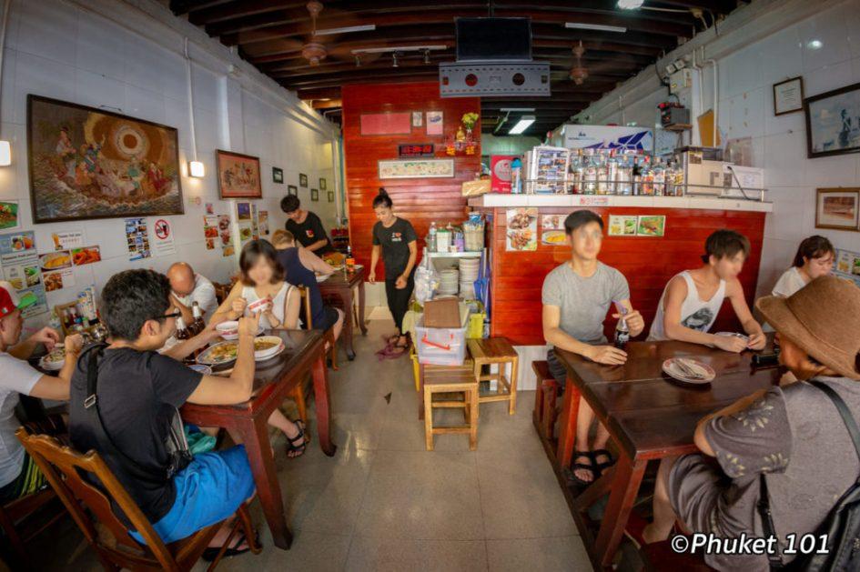 Number 6 Restaurant in Phuket