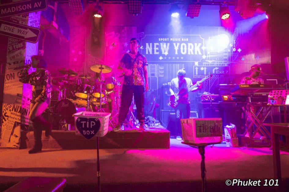 New York Live Band Phuket