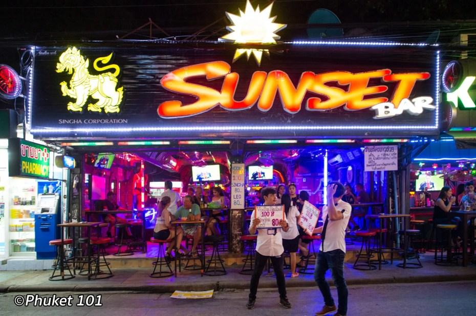Sunset Bar Phuket