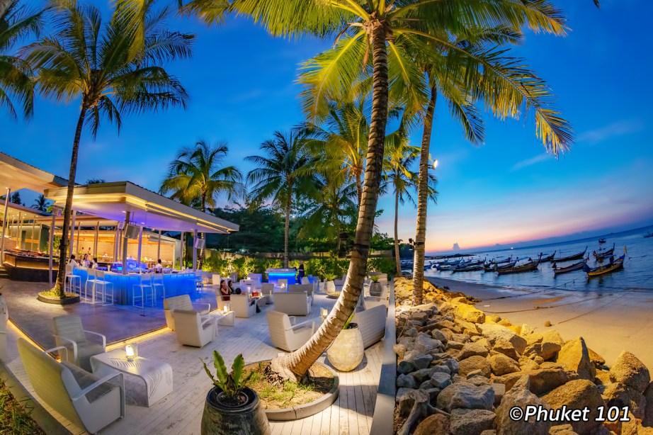 Palm Seaside Restaurant on Bangtao Beach