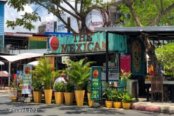 The Mexicana t Boat Avenue in Bangtao