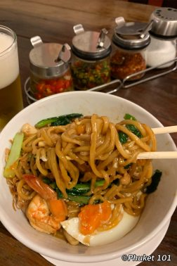 Hokkien Noodles at Kopitiam by Wilai in Phuket Town