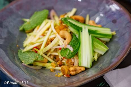 Thai food at Kiew Kai Ka Restaurant Phuket