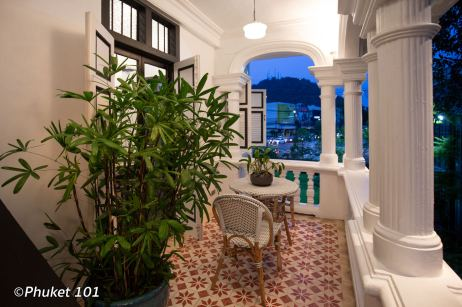 A great Thai restaurant in a heritage house in Phuket Town